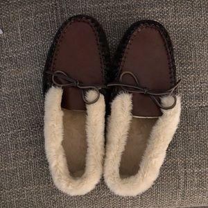 J. crew men's loafer slippers